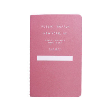Public Supply - Small Dot Notebook / Assorted