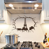 Paris At Your Fingertips Vinyl Wall Art FREE by showcase66