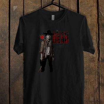 Chandler Riggs Carl Grimes The Walking T Shirt  Mens T shirt and Womens T shirt *