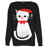 Ella Cat Christmas Jumper