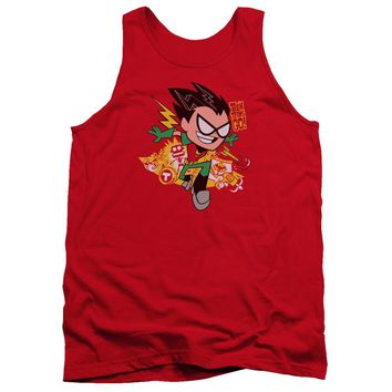 Teen Titans Go - Robin Adult Tank Top Officially Licensed Apparel