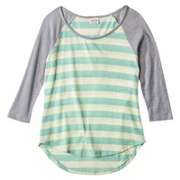 Mossimo Supply Co. Junior's Striped Tee - Assorted Colors