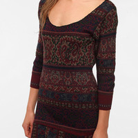 Urban Renewal Patterned Sweater Dress