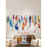 Feather Wall Sticker