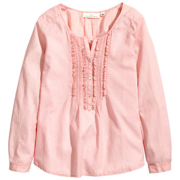 H And M Cotton Blouse 107