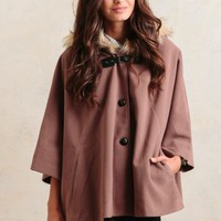 Central London Cape Jacket