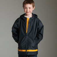 SALE!! CUSTOM Youth Monogram Rain Jacket -- Perfect for the Spring weather!