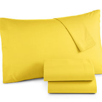 Jessica SandersMicrofiber Sheet Sets, Created for Macy's