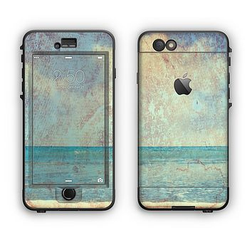 The Vintage Ocean Vintage Surface Apple iPhone 6 LifeProof Nuud Case Skin Set