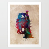 tuba art #tuba #music Art Print by jbjart