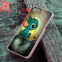 Stich and Turtle - iPhone 4/4S, iPhone 5/5S, iPhone 5C Case and Samsung Galaxy S2 i9100, S3 i9300, S4 i9500 Case