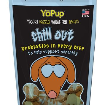 YoPup Chill Out Dog Biscuits, 7 oz Bag