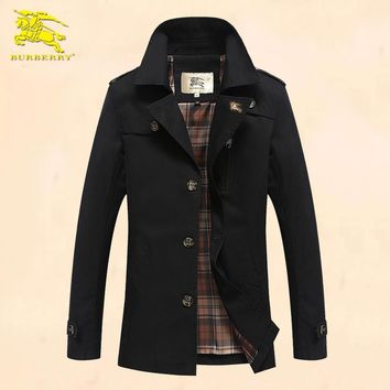 Burberry Cardigan Jacket Coat-27