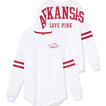 University of Arkansas Varsity Crew - PINK - Victoria's Secret