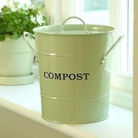 green compost bucket by garden trading | notonthehighstreet.com