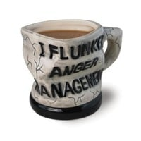 Big Mouth Toys Anger Management Ceramic Mug: Kitchen & Dining