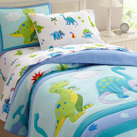 Olive Kids Dinosaur Land Full Comforter Set - 22412