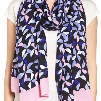 kate spade new york spinner print scarf | Nordstrom