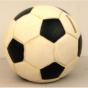 Bank Soccer Ball
