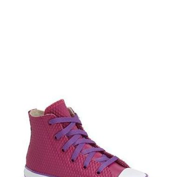 Girl's Converse Chuck Taylor All Star Waterproof Rubber Rain Sneaker,