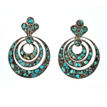 Mexican Mosiac Earrings
