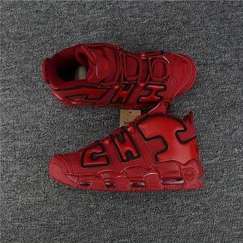 Nike Air More Uptempo ¡°CHI¡± Red Size 40----46