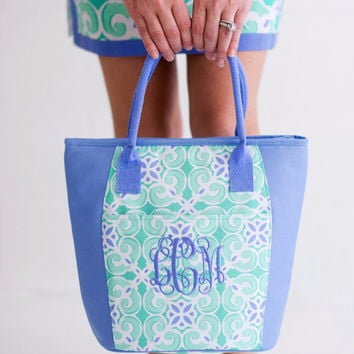 Drink In My Hand - Sea Tile Cooler Tote | Driftwood Market