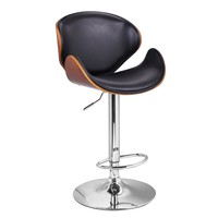 Bergviken Modern Bar Stool with Back