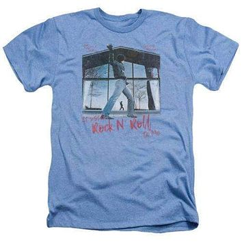 Billy Joel Glass Houses Heathered Tee Shirt