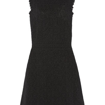 Alexander McQueen - Cotton-blend lace dress