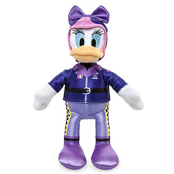 "Disney 10"" Daisy Duck Plush Mickey and the Roadster Racers New with Tags"