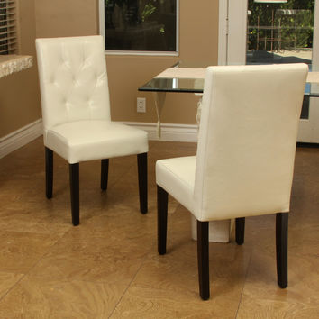 Waldon Ivory Dining Chair (Set of 2)