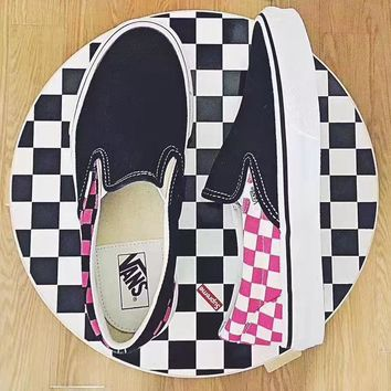 Vans Style 36 X Slip On Limited Edition Old Skool Flats Sneakers Sport Shoes