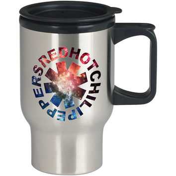 Red Hot Chili Peppers Galaxy For Stainless Travel Mug *