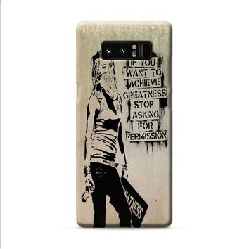 Banksy Art 1 Samsung Galaxy Note 8 case