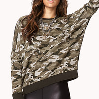 Sporty Camo Sweatshirt