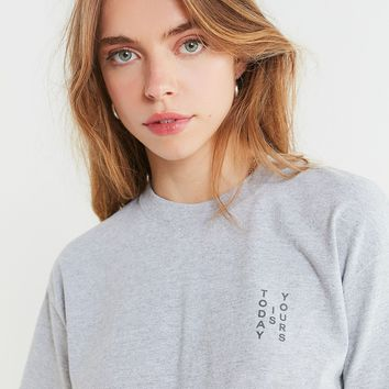 Today Is Yours Cropped Tee | Urban Outfitters