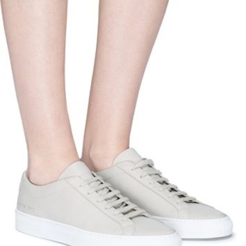 Common Projects | 'Original Achilles Premium' leather sneakers | Women | Lane Crawford - Shop Designer Brands Online