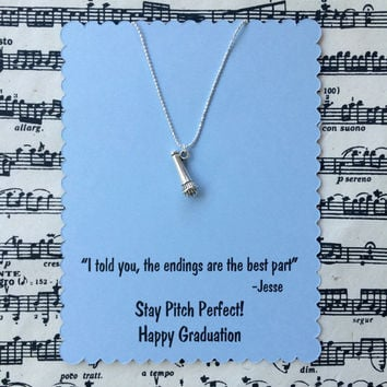 Pitch Perfect Graduation Necklace