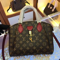 LV Louis Vuitton MONOGRAM CANVAS Rivoli BB HANDBAG INCLINED SHOULDER BAG