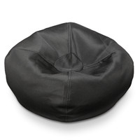 Michael Anthony Furniture Black Mesh Bean Bag
