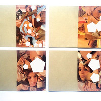 Individual MATURE handmade cards, Mens magazine, Gallery, erotic, collage, adult images, nudity, Down on the Farm