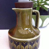 Gorgeous, retro Hornsea Heirloom vinegar jug!!! ReTrO KiTcHeN!