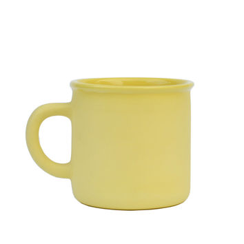 Lemon Pie Clay Mug