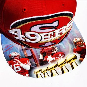 San Francisco 49ers  New Era Snapback or Fitted Cap with Legends custom