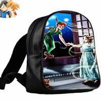 Peter Pan Tinker Bell Wendy.   for Backpack / Custom Bag / School Bag / Children Bag / Custom School Bag
