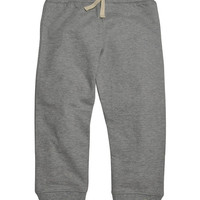 Heather Gray French Terry Organic Sweatpants - Toddler & Boys