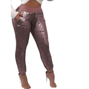 Bling Sequin Joggers