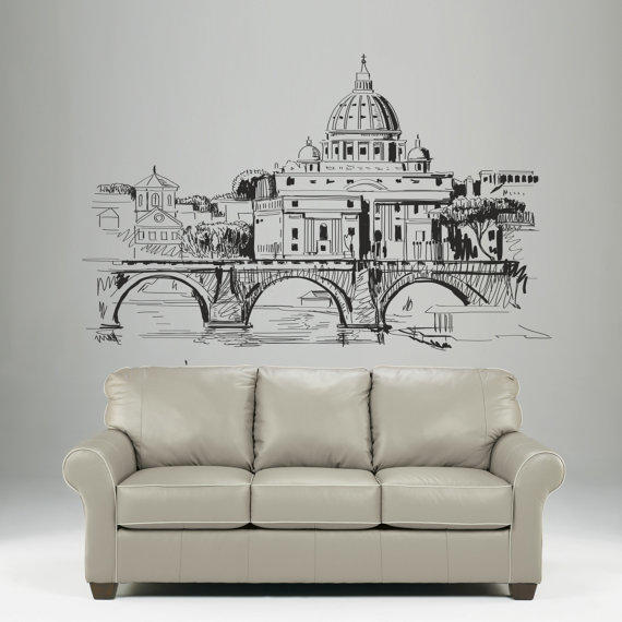 Interior Wall Decal Vinyl Sticker Art From Decorwalldecals On