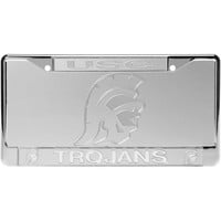 USC Trojans Frost License Plate & Frame Set